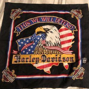Harley Davidson bandanna